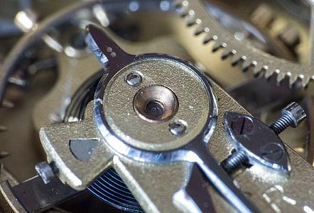 ceas, Mişcarea, Angrenaje, transmisie, orologeriei, feinmechanik, ceasuri