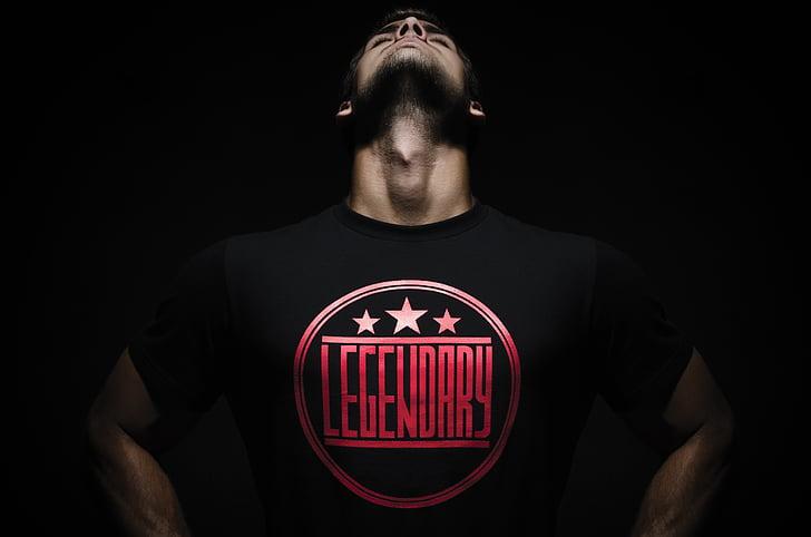 title, photo, logo, shirt, a man, fashion, print out