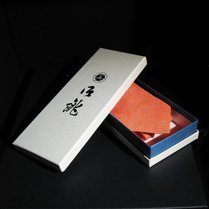 den-ka, tie, japanese pattern, necktie, kimono