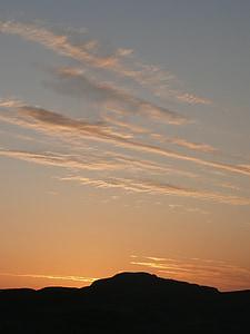 scotland, mountains, sky, sunset, cloud, clouds
