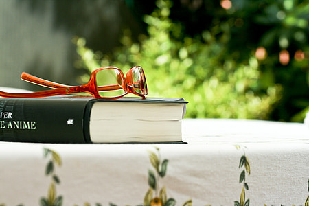 book, glasses, reading, culture, italy, spring, reflection