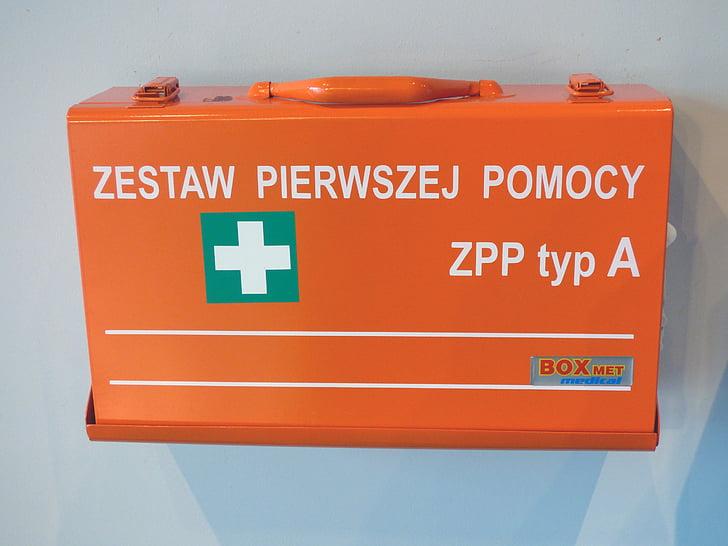 farmaciola de primers auxilis, primers auxilis, mèdica, przedmedyczna, salut