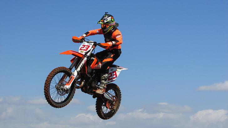 motocròs, esport, extrem, competència, acció, moto, equitació