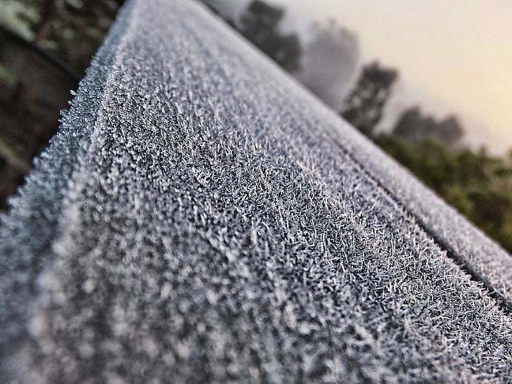 gel, gelades, l'hivern, fred, glacejat