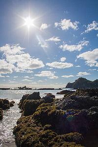 Uus-Meremaa, Vaikse ookeani, Beach, Sea, vee, liiv, taevas