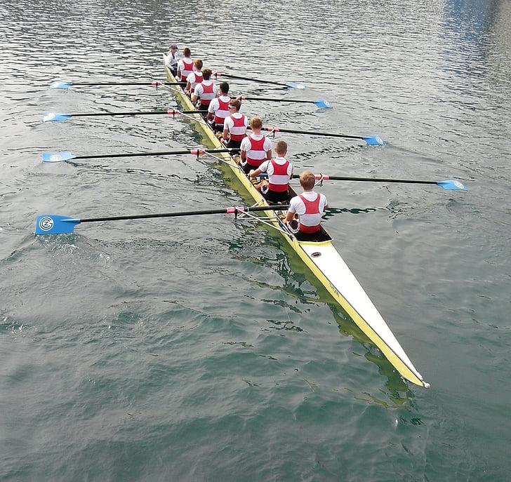 Rem, Lucerna, cursa de Reuss, cursa de rem, Reuss, riu, l'aigua