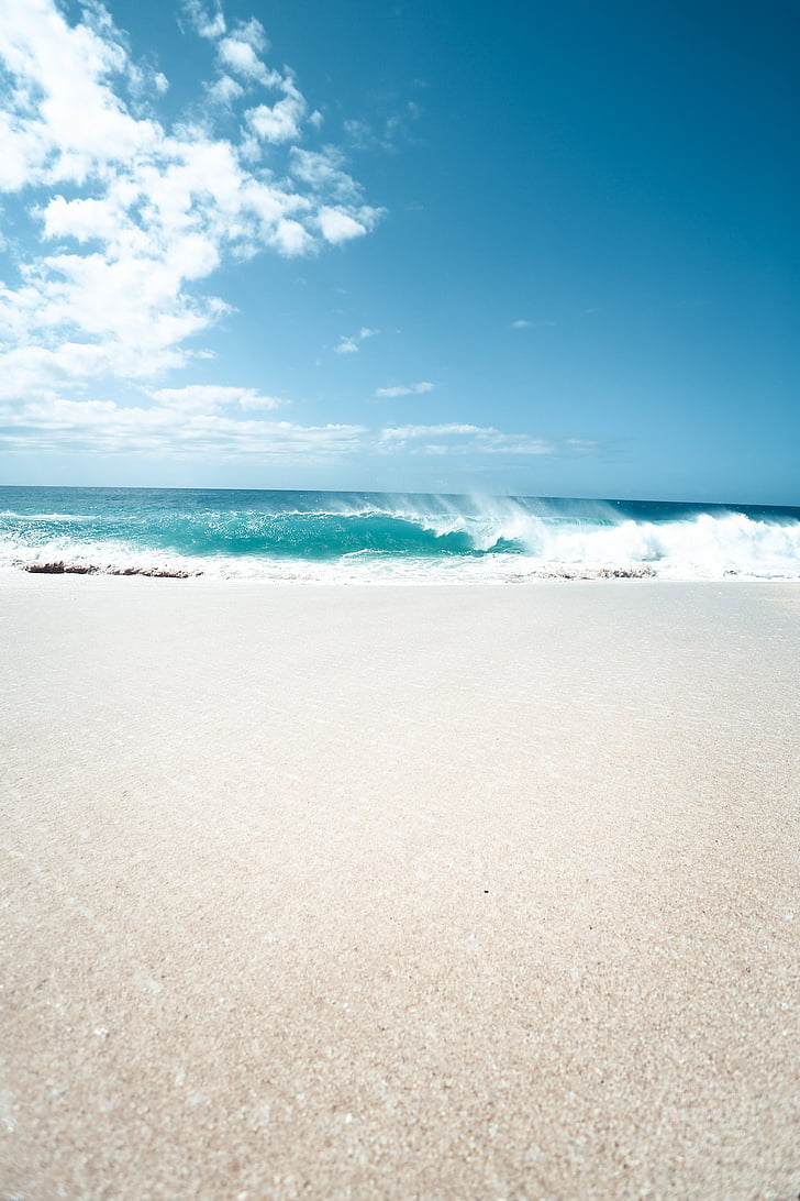 Beach, Sol, Mar