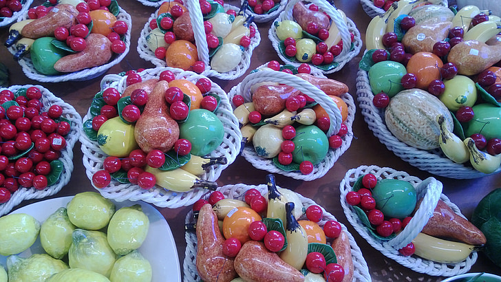 fruites, decoració, vitamines
