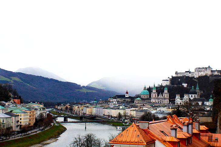 Àustria, Salzburg, Europa, viatges, paisatge, austríac, europeu