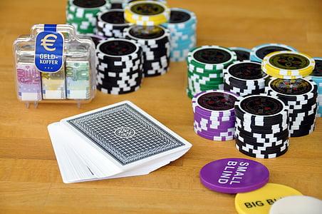 játék, kártyajáték, póker, póker zseton, zseton, kártyák, szerencsejáték