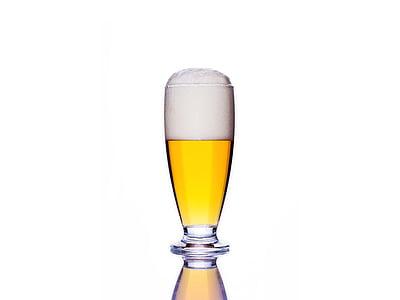 õlu, jook, alkoholi, jook, pool, klaas, pubi