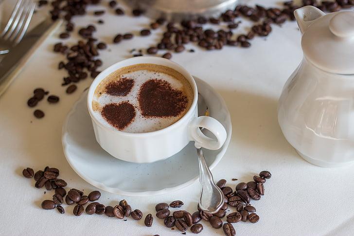 cafè, tassa de cafè, Misto, Caputxí, Copa, milchschaum, calenta