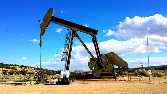 refineria, bomba, indústria, gas, combustible, a l'exterior, construcció