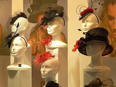 Manekeni, lelles, attēlotu lelli, seja, portrets, modes, profils