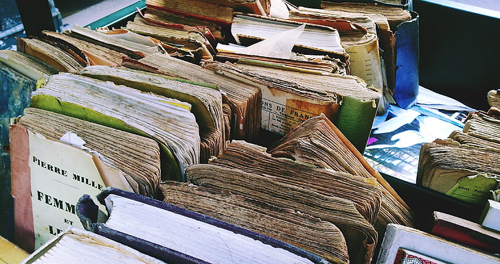 books, antiquariat, used books, old books, flea market, book market, old book