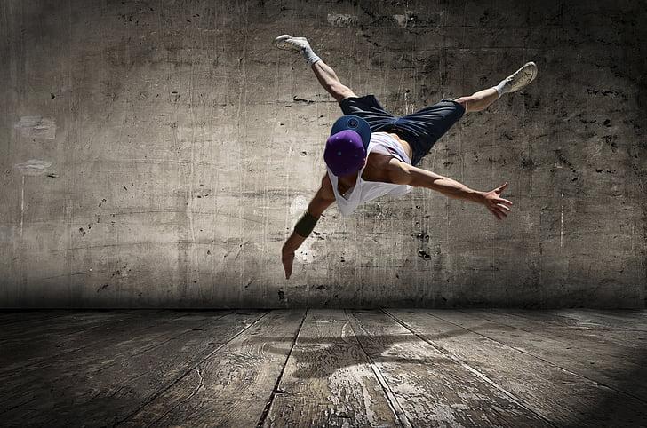 carrer ballarina, hip-hop, jove, moviment, estil, hip-hop, acció