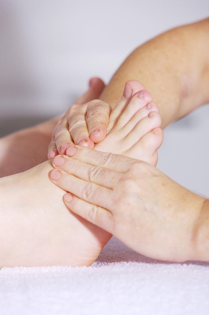 Fodmassage, Zoneterapi, alternativ medicin, skønhed, kinesisk, blodcirkulationen, kredsløbssygdomme