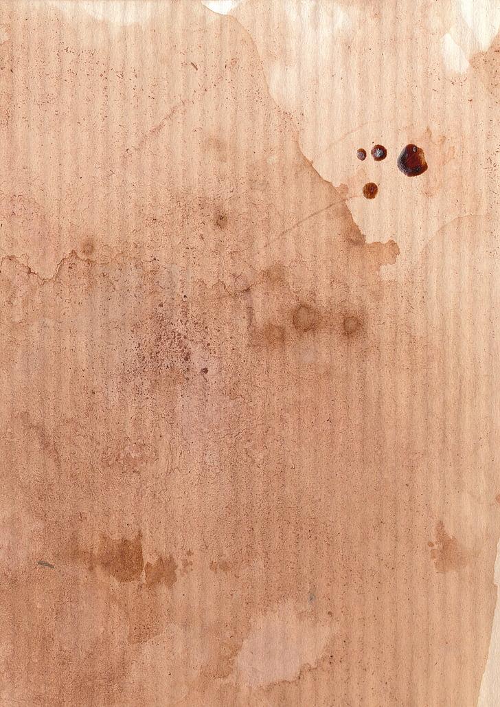 cà phê, giấy, nền tảng, vết, kết cấu, nguồn gốc, màu nâu