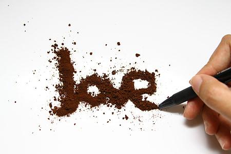 kafijas, mīlu, kauss, Kafejnīca, dzēriens, Brokastis, brūns