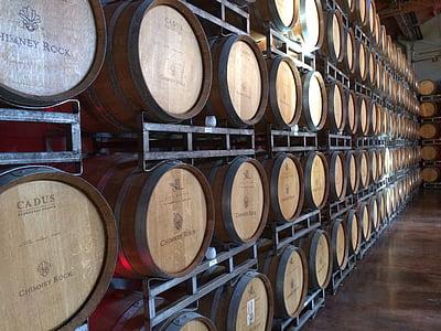 vin, dryck, dricka vin, vinkällare, källare, Wine cask, Winery