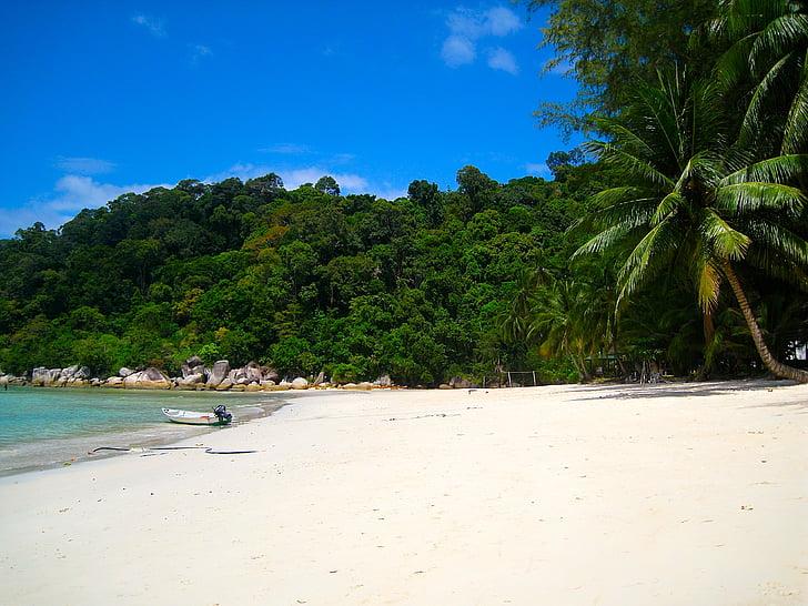 perenthian islands, malaysia, island, beach, secluded