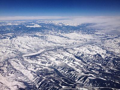 montanhas, paisagem, Cordilheira, Terra, neve, natureza, montanha