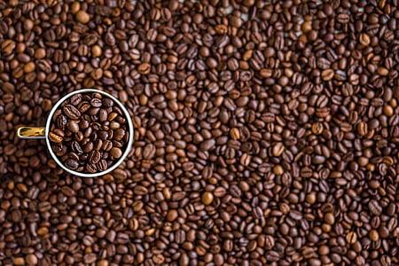 καφέ, κόκκοι καφέ, ποτό, καφεΐνη, ποτών, καφέ, εσπρέσο