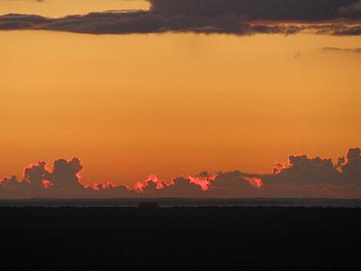 cel, posta de sol, Alba, matí, nit, capvespre, Alba