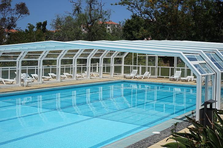 piscina, piscina, piscina, l'aigua, nedar, fresc, l'actualització