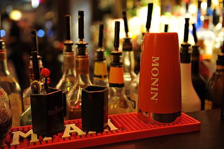 kokteil, Baar, joogid, pubi, jook, keskkond, alkoholi