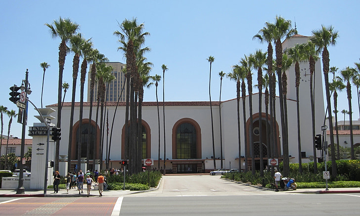 union station, los angeles, california, architecture, building, travel