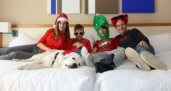 สุขสันต์วันคริสต์มาส, เด็ก, คริสมาสต์, ครอบครัวคริสมาสต์, ครอบครัว, เวลาที่ดี, ครอบครัวคริสมาสต์