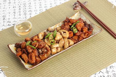 Korejiešu pārtikas, ēdiena gatavošanai, garšīgi, Āzija, recepte, pārtika, milti