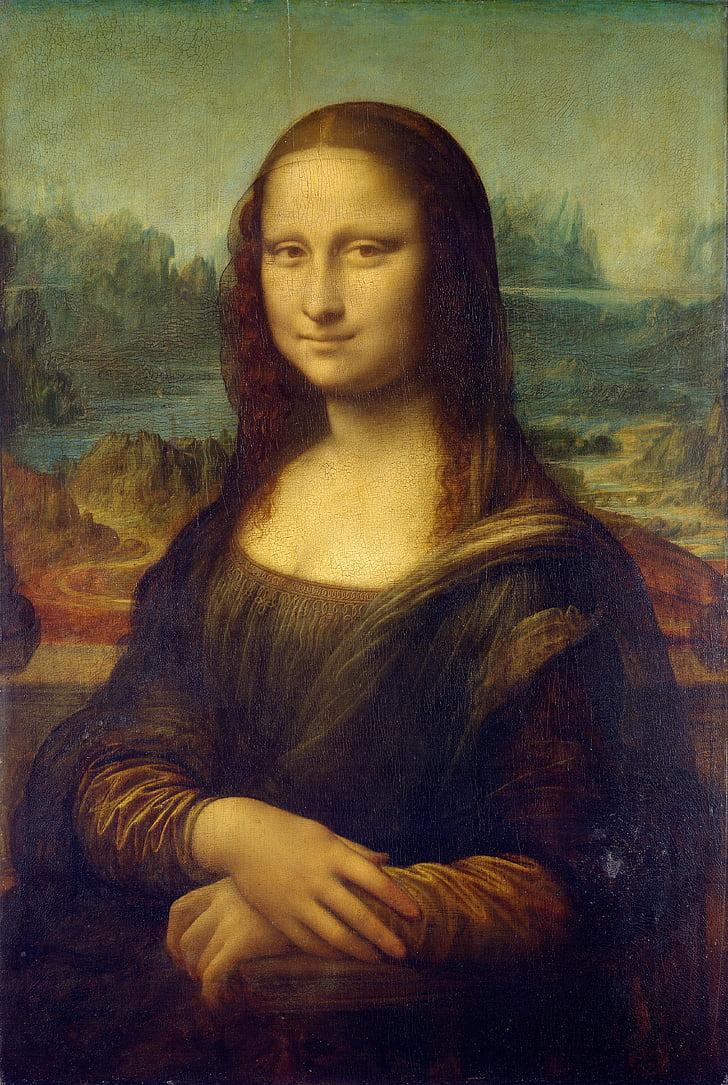 Mona lisa, Leonardo da vinci, la gioconda, pintura d'oli, llenç, car, preu