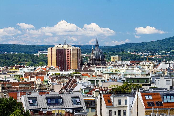 Viena, panoràmica, panoràmica de la ciutat, veure, bona vista