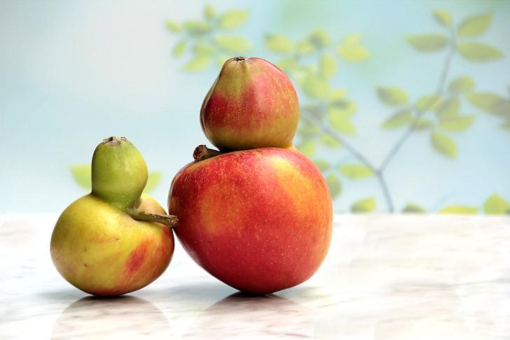 owoce, Jabłko, Defekt genu, Freak of nature, Martwa natura