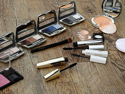 Косметика, составляют, макияж, Салон красоты, Цвет, порошок, Руж