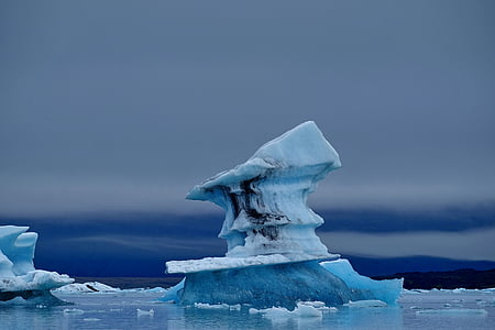 iceland, ice, glacier, frozen, ice floes, icebergs, icy