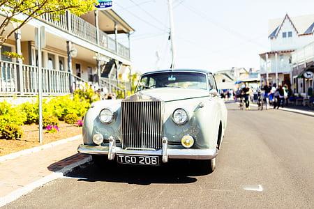 rolls royce, oldtimer, classic, car, luxury, vehicle, automobile