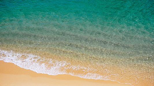 platja, paper d'empaperar de HD, natura, sorra, Mar, marí, vora del mar