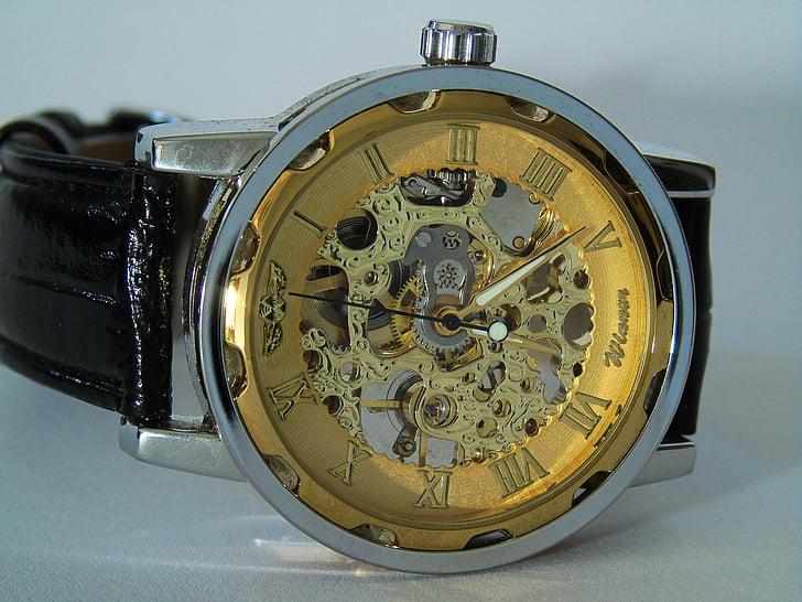 rellotge de canell, rellotge, temps, canell, temps que indica, Mens, rellotge analògic