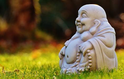 Bouddha, Figure, reste, bouddhisme, fernöstlich, silencieux, détente
