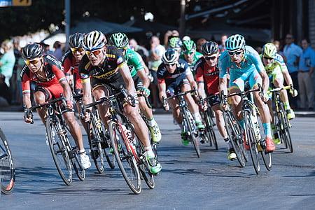 ljudi, ljudi, bicikl, bicikala, biciklist, Biciklisti, utrke