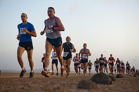 tekmovanje v teku, jog, tek, tekačev, tekačem, zunaj, dirka