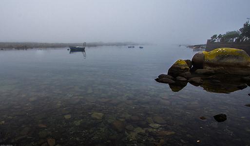 Мізі, jacobsbay, ранок, спокій, човен, води, море