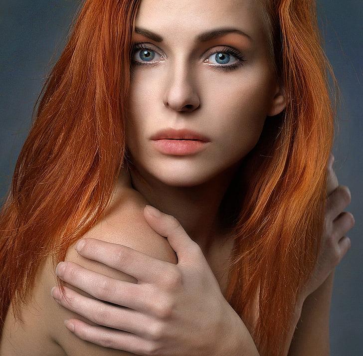 girl, portrait, woman, ruda, face, beauty, model
