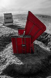 St oooooo, Marea Baltică, mare, plajă, coasta, scaun de plaja, peisaj