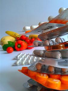 vitamines, comprimits, cura, Farmàcia, comprimit, Permeteu-vos, medicaments