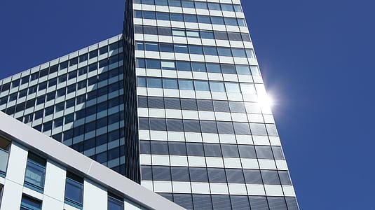 büroohoone, arhitektuur, Hamburg, hoone, pilvelõhkuja