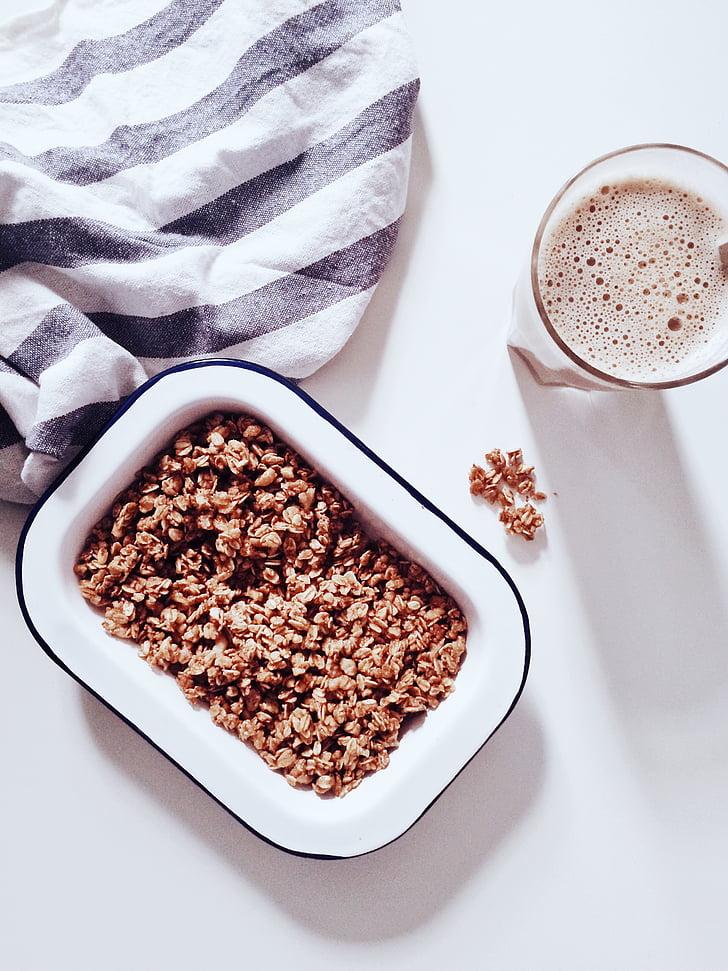 thức uống, nước giải khát, bong bóng, bột yến mạch, thực phẩm, Bữa sáng, tấm